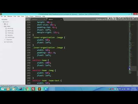 HTML tutorial for beginners in Urdu/Hindi | Project Part-9 | thumbnail