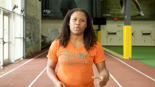 Lauryn Williams: Week 2 100m Training Plan -  Acceleration Phase 2