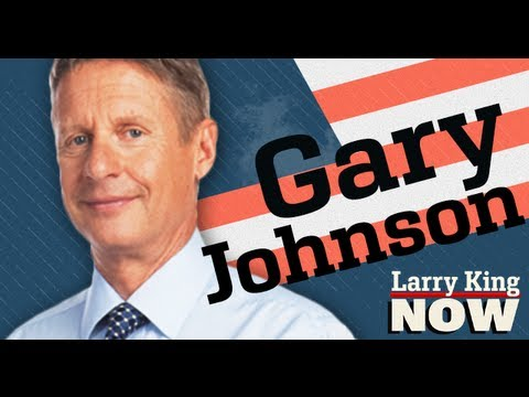 "Gary Johnson Libertarian Presidential Candidate Interview (Part 1) | ""Larry King Now"" 