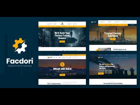 Existing Installtion - Facdori - Industrial & Factory Business Drupal 8 Theme