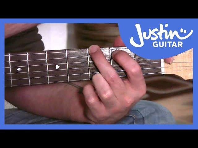 Easy Open Suspended Chords | JustinGuitar.com