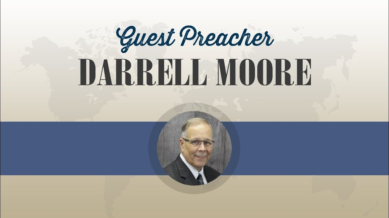 Guest Preacher Darrell Moore   A Reason of the Hope   Sun AM 1 17 21