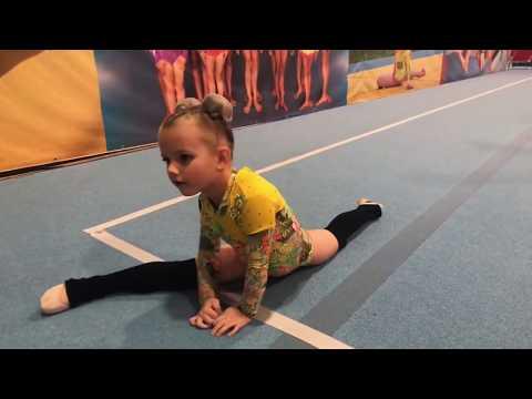 Первое выступление Велиславы на соревнованиях по гимнастике / Velislav's First Competition
