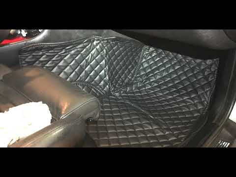 00 BMW E39 m5 Custom floor mats unbox and review