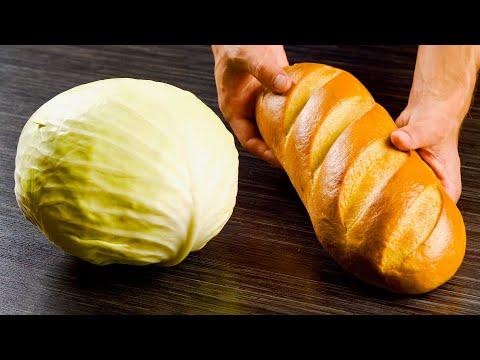 7 листов капусты и полбатона – великолепное блюдо, которое точно понравится всем за столом!