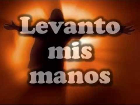KARAOKE:LEVANTO MIS MANOS-PISTA
