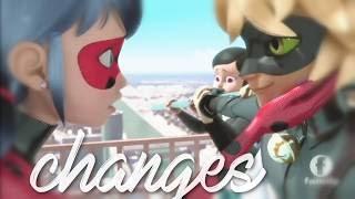 Miraculous Ladybug S2 - Changes AMV [Marinette x Adrien]
