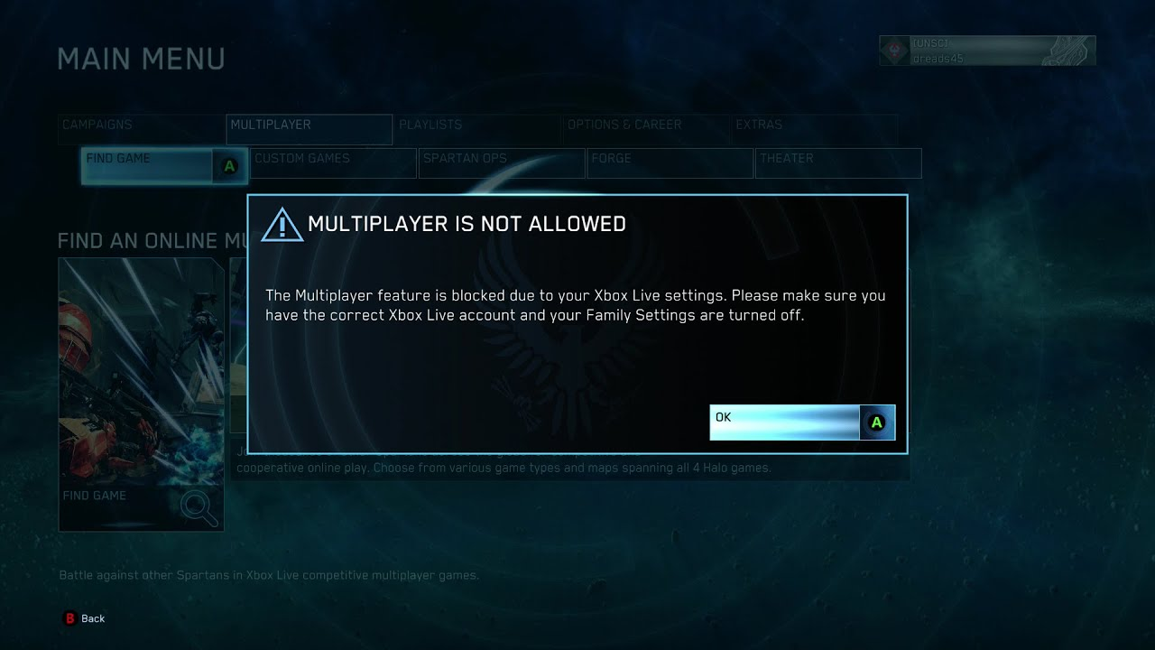Halo 4 matchmaking keeps restarting search