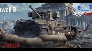 Cromwell B British Beast   World of Tanks Blitz