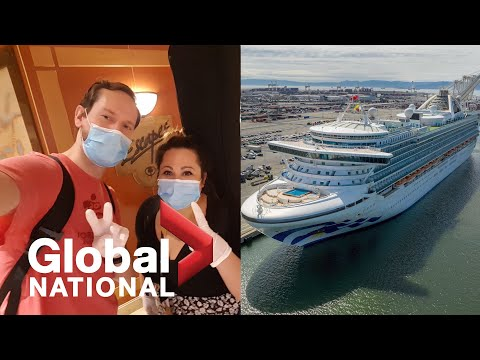 Global National: May 10, 2020   Canadian crew members stuck on cruise ships finally return home