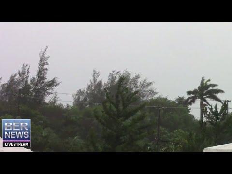 Bernews: Hurricane Nicole Live In Bermuda, October 13 2016