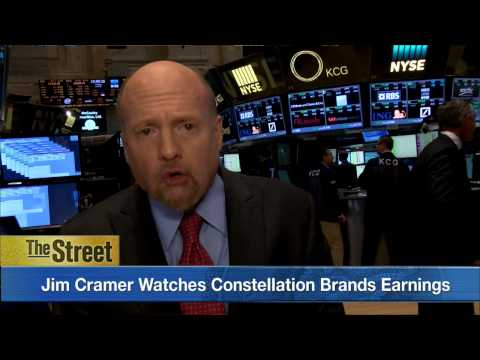 What To Watch Wednesday: Jim Cramer Watches Constellation Brands Quarterly Earnings