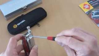 SEYDEL HANDS-ON VIDEO: Adjusting the SAMPLER's slide lock