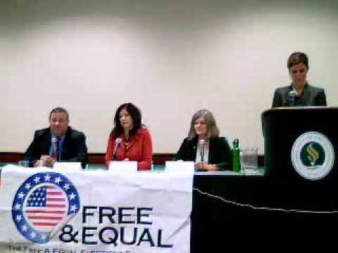 2010 Free and Equal Elections CA Gubernatorial Debate