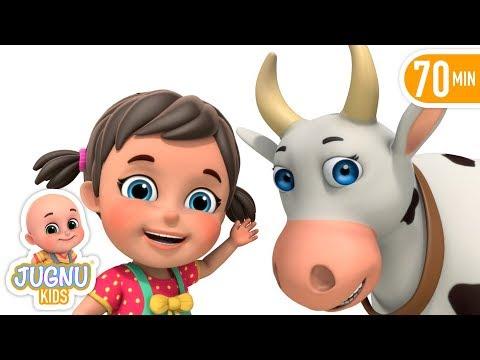 Gaiya Meri - Hindi Rhymes for Children | Meri Gaia - Hindi Kavita collection by Jugnu Kids