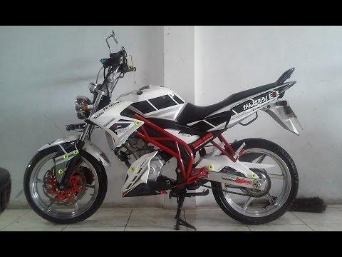 Modifikasi Motor Yamaha Vixion 150 oldnew Modif  YouTube