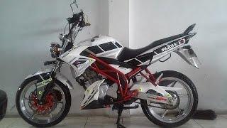 Modifikasi Motor Yamaha Vixion 150 old/new Modif