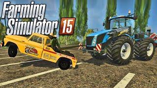 Caminhão Guinchando Tratores - Farming Simulator 15