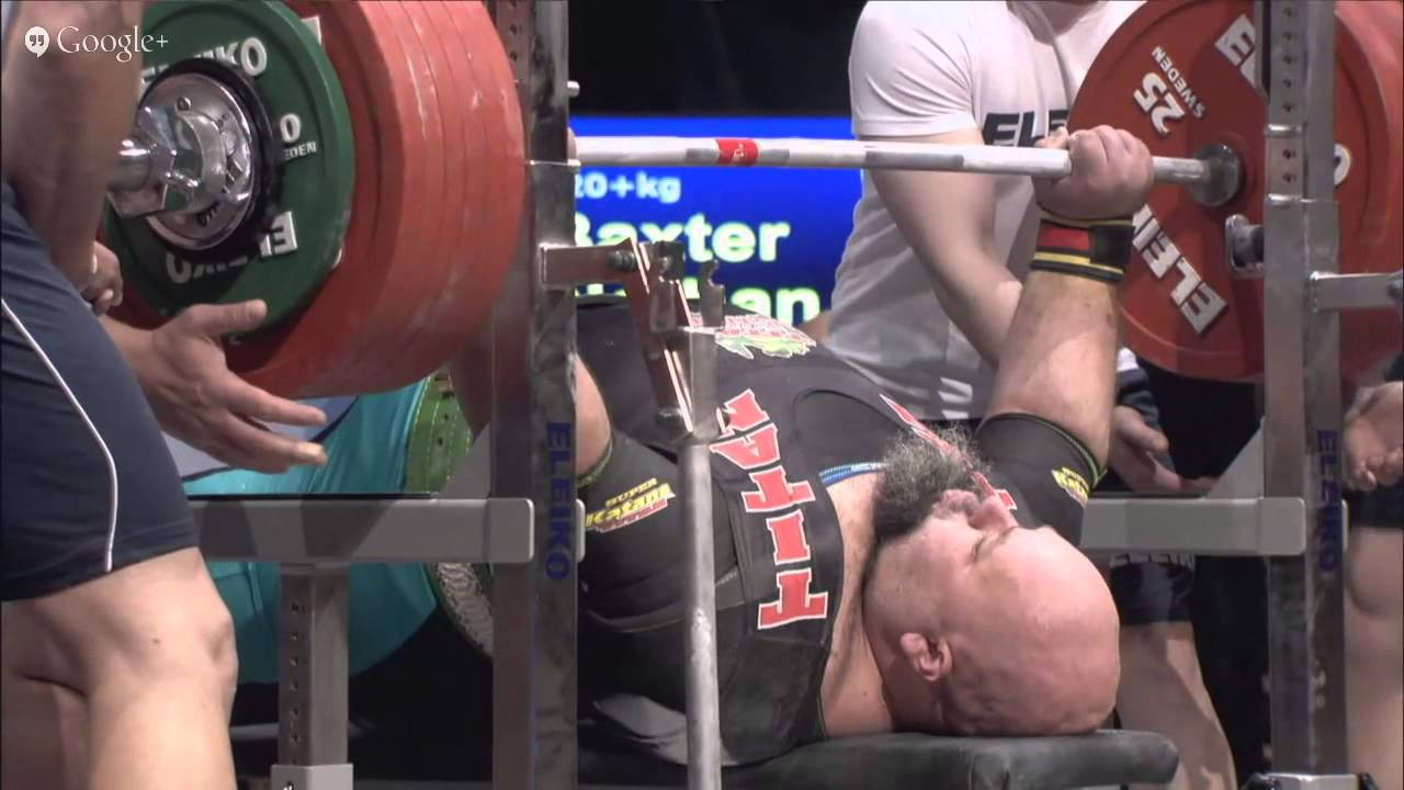 Bench Press World Record Part - 46: 2015 IPF World Bench Press Championships - Men 120+ Kg - YouTube