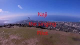 Naji, the singing pilot