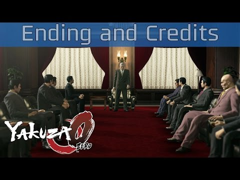 Yakuza 0 - Ending and Credits [HD 1080P/60FPS]
