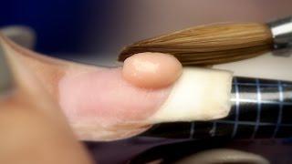 Beginners Acrylic Nails: Liquid To Powder Ratio thumbnail
