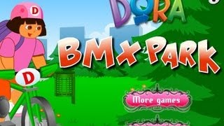 Dora Bmx Park Walkthrough
