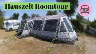 Outwell Hauszelt Roomtour Verṁont 7SA I Campen mit Baby und Kleinkind I AllesClärchen