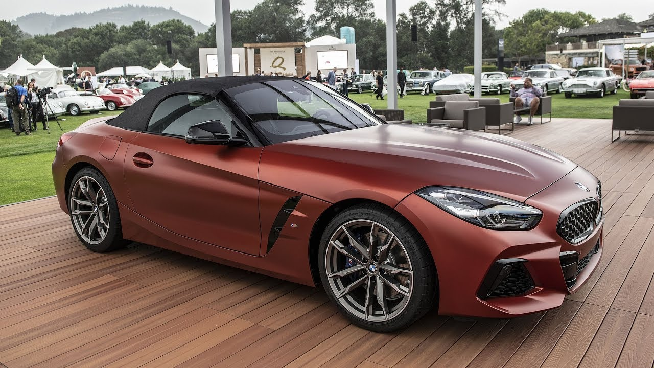 2019 Bmw Z4 M40i Roadster First Edition At Pebble Beach