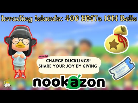 Island Invasions FREE 10M BELLS U0026 400 NMTS On Nookazon (ACNH)