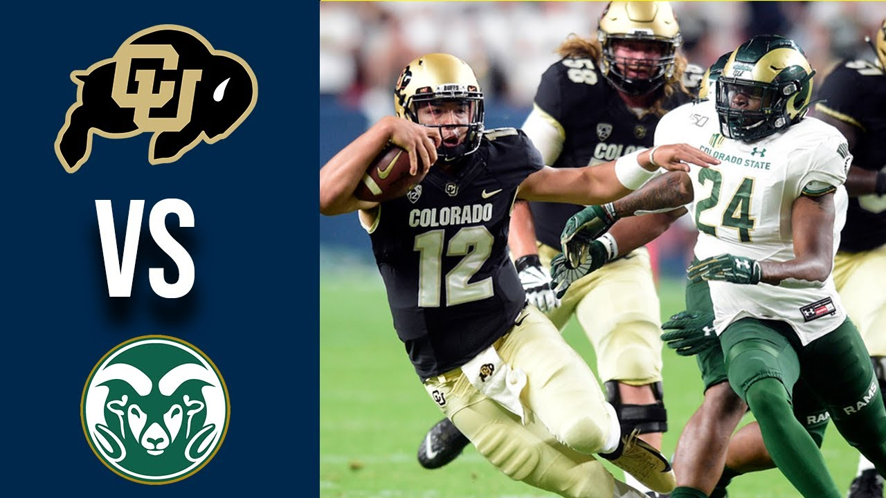 Colorado State vs Colorado Highlights Week 1 College Football 2019