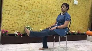 office yoga /chair yoga/yoga for joint pain relief