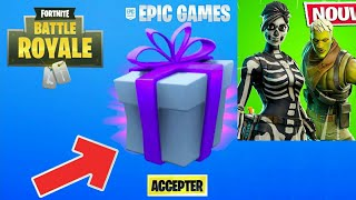 HOW OBTENIR 2 FREE SKINS on FORTNITE 😱 (HALLOWEEN)