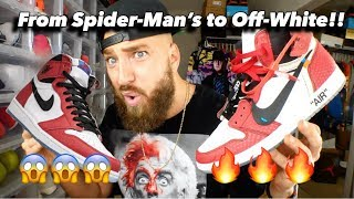 Turn Your Spider-Man Jordan 1's into Off White Chicago 1's!!