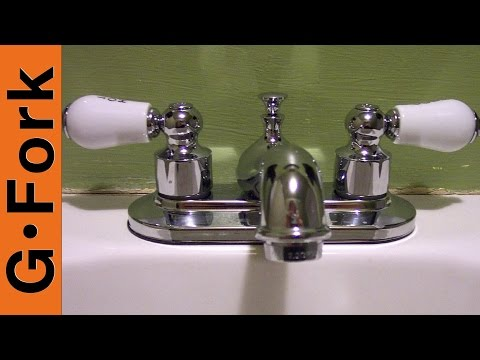 How to Install a Bathroom Sink Faucet