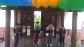 2013.12.07 Quarter口琴-龍貓組曲 @臺北市立動物園