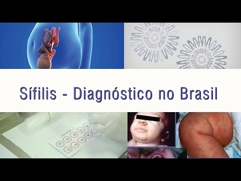 Видео Epidemiologia da sífilis gestacional e congênita no Brasil