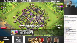 CHALLENGE, FARMEN & BESUCHE! || CLASH OF CLANS || Twitch Stream 12.03. Teil 2 [Deutsch/German HD]