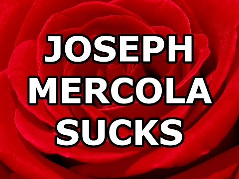 Joseph Mercola Sucks