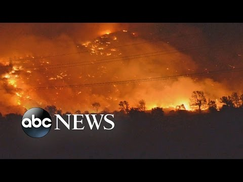California Residents Barely Escape Wildfires