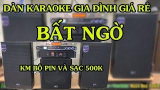 Dàn karaoke gia đình giá rẻ giá chỉ có 15tr800 chỉ có tại Huân Hoa Audio LH: 0825372999