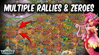 Multiple RalliesZeroes Lords Mobile