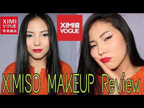 ximiso full face makeup tutorial + review