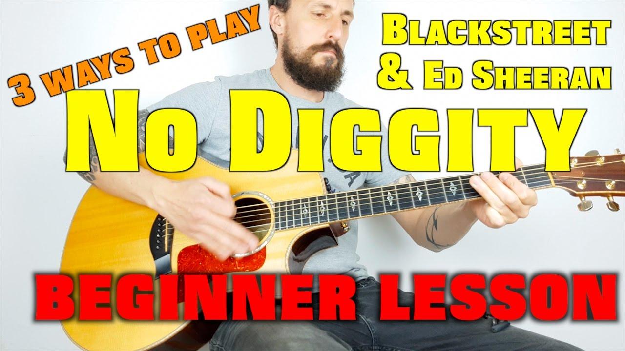 No Diggity, 15 easy ways on guitar