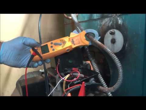 oil burner motor will not run tripping safety