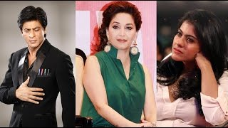 Shah rukh khan calls kajol & madhuri old!   latest bollywood news