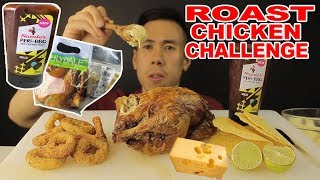 [MUKBANG] ROAST CHICKEN CHALLENGE-WITH MELTED CHEESE-BIG BITES