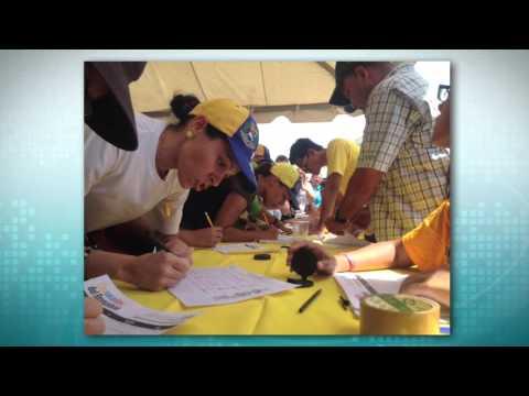 Toda Venezuela se movilizó para firmar por el Revocatorio