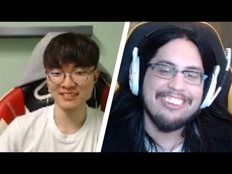 IMAQTPIE My Chat is Autistic | When FAKER Plays Support FUNNIEST MOMENTS OF THE DAY #175