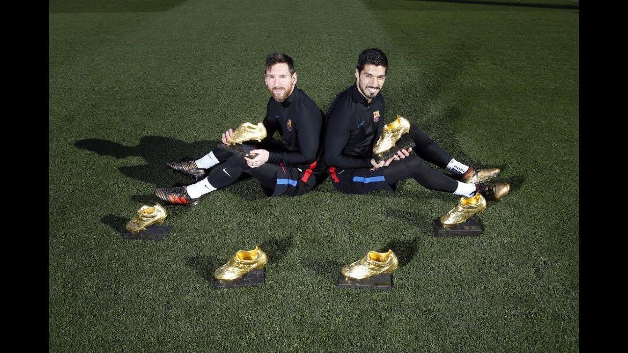 their Golden Shoe trophies